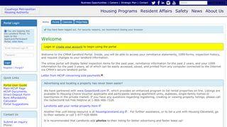 Cmha Landlord Portal