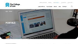 College Of Law Media Portal