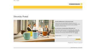 Commerzbank Diversity Portal