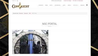 Conquest Nsc Portal