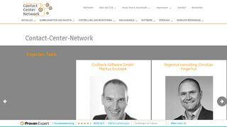 Contact Center Portal