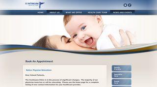 Continuum Medical Care Patient Portal