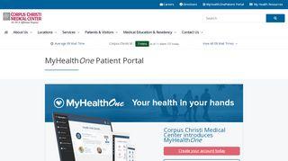 Corpus Christi Medical Center Patient Portal