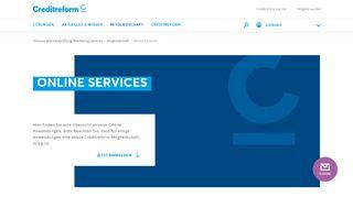 Creditreform Online Portal