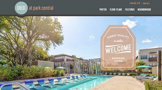 Crest At Park Central Resident Portal