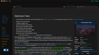Darkmoon Faire Portal