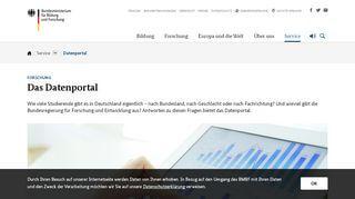 Daten Portal