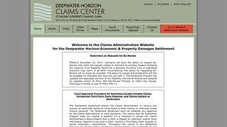 Deepwater Horizon Portal