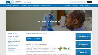 Dlo Patient Portal