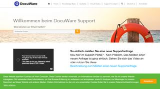 Docuware Support Portal