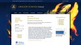 Dragon School One Login