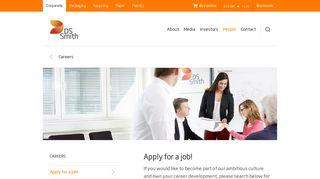 Ds Smith Job Portal