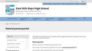 East High School Parent Portal