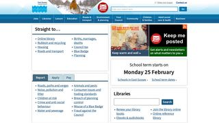 East Sussex County Council Intranet Portal