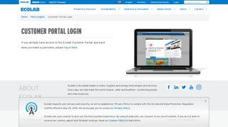 Ecolab Portal