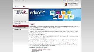 Edoo Sys Self Service Portal