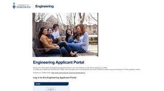 Engineering Applicant Portal