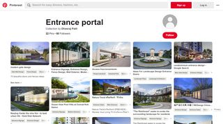 Entrance Portal Design