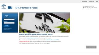Epa Interaction Portal