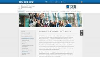 Esb Alumni Portal