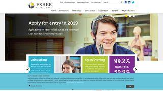 Esher College Student Portal