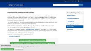Falkirk Planning Portal