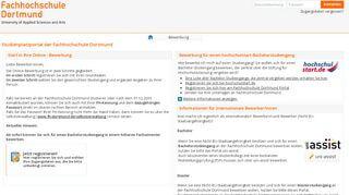 Fh Dortmund Portal