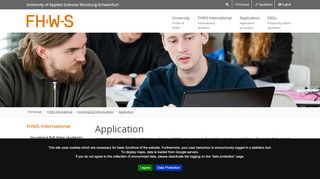 Fhws Application Portal
