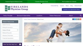 Firelands Physician Group Patient Portal
