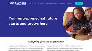 Fishburners Portal