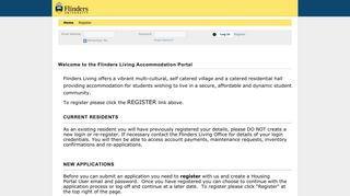 Flinders Housing Portal