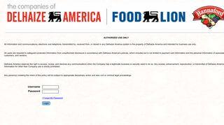 Food Lion Employee Portal