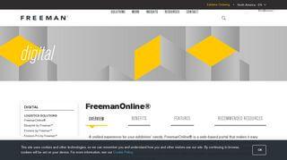 Freeman Online Portal