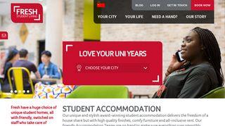 Fresh Student Living Student Portal