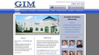 Garner Internal Medicine Portal