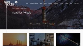 Ge Oil And Gas Supplier Portal