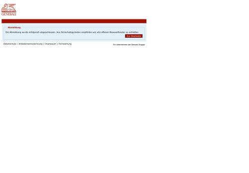 Generali Außendienst Portal