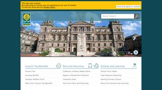 Glasgow City Council Staff Portal