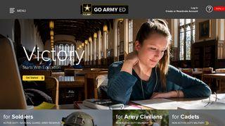 Go Army Portal