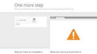 Grandx.Org Login