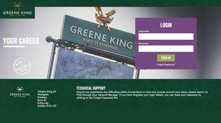 Greene King Tap Training Login