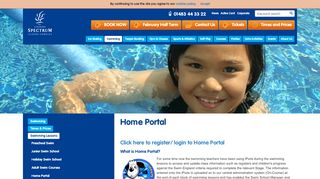 Guildford Spectrum Home Portal