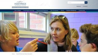 Hastings Secondary College Parent Portal