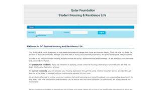 Hbku Housing Portal