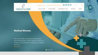 Healthelink Community Portal