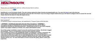 Healthsouth 360 Portal