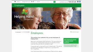 Helping Hand Employee Portal