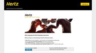 Hertz Employee Portal