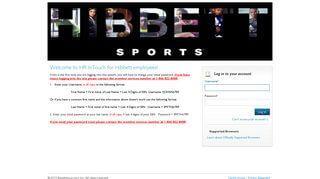 Hibbett Sports Employee Portal
