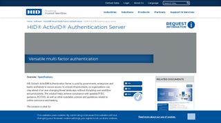 Hid Activid Authentication Self Service Portal